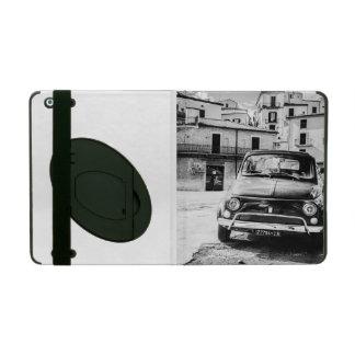 Fiat 500 cinquecento en Italia regalo clásico de iPad Protectores