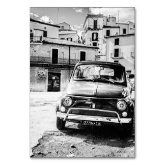 Fiat 500, cinquecento en Italia, regalo clásico de