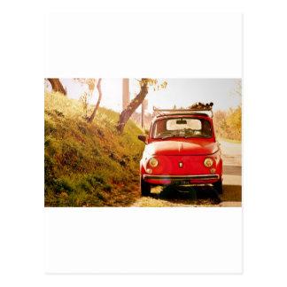 Fiat 500, Cinquecento en Italia Postales