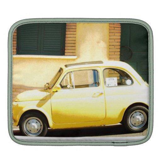 Fiat 500, Cinquecento en la manga de Italia Ipad Funda Para iPads