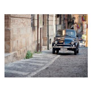 Fiat 500, Cinquecento en Lanciano, Italia Tarjetas Postales