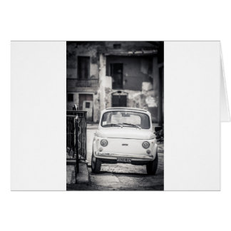 Fiat 500, Cinquecento in Italy Card