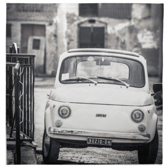 Fiat 500, Cinquecento in Italy Cloth Napkin