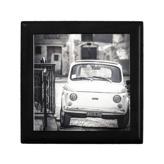 Fiat 500, Cinquecento in Italy Jewelry Box