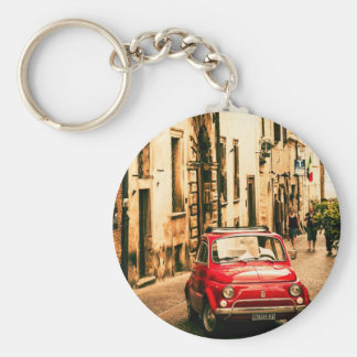 Fiat 500, Cinquecento in Italy Keychain