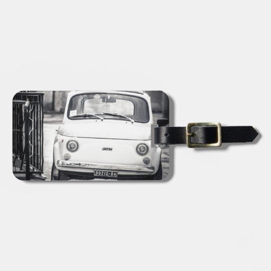 Fiat 500, Cinquecento in Italy Luggage Tag