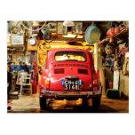 Fiat 500, Cinquecento in Italy Post Cards