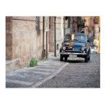 Fiat 500, Cinquecento in Lanciano, Italy Postcard