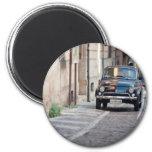 Fiat 500, Cinquecento in Lanciano Refrigerator Magnet