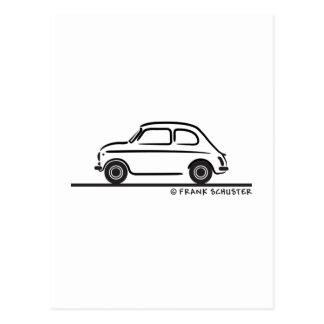 Fiat 500 Cinquecento Tarjeta Postal