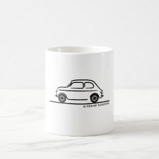 Fiat 500 Cinquecento Tazas