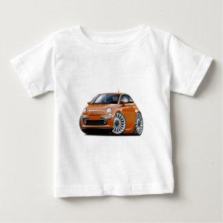 Fiat 500 Copper Car Baby T-Shirt