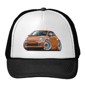 Fiat 500 Copper Car Trucker Hat
