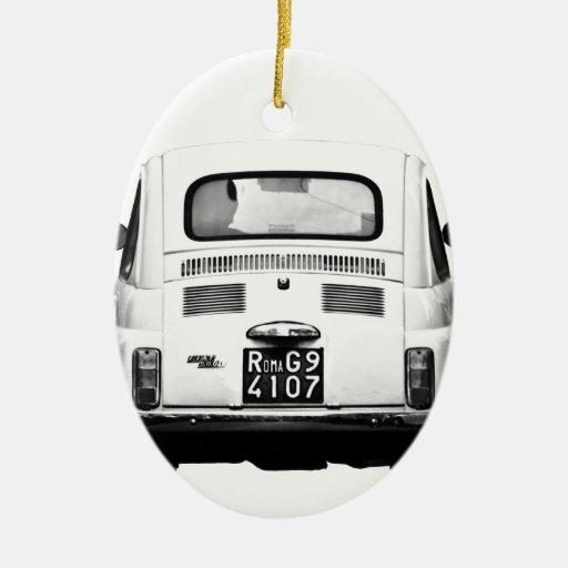 Fiat 500 en Roma, Italia Ornamentos De Reyes Magos