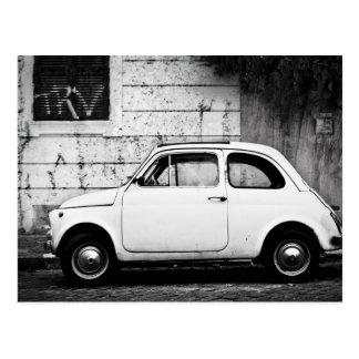 Fiat 500 en Roma, Italia Postales
