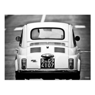 Fiat 500 en Roma, Italia Postal
