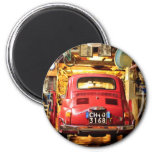 Fiat 500 in Italy Magnet