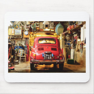 Fiat 500 in Italy Mousemat