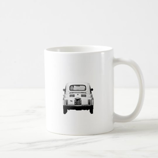Fiat 500 in Rome, Italy. Coffee Mug