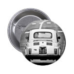 Fiat 500 in Rome Pinback Button
