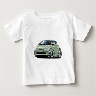Fiat 500 Lt Green Car Baby T-Shirt
