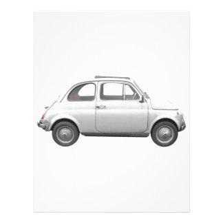 Fiat 500 membrete a diseño