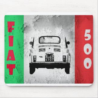 Fiat 500, mousemat de Cinqucento en Roma, Italia Tapete De Ratones