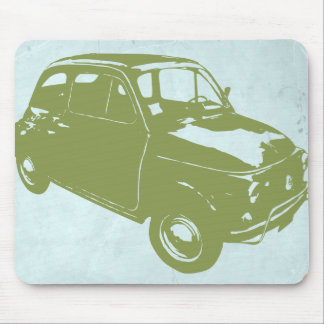 Fiat 500 mouse pad