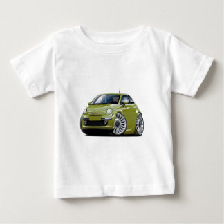 Fiat 500 Olive Car Baby T-Shirt