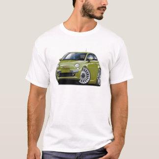 Fiat 500 Olive Car T-Shirt