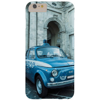 Fiat 500 Police car Iphone 6 case in Italy, Rome