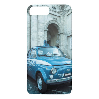 Fiat 500 Police car iPhone 7 case in Italy, Rome