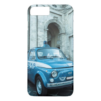 Fiat 500 Police car vintage retro iPhone 7+ case