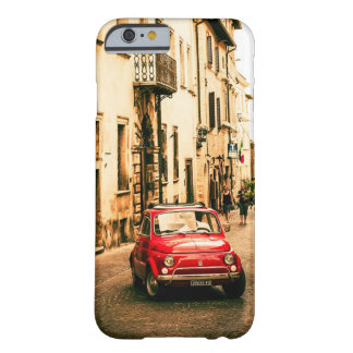 Fiat 500 Red in Italy, Tuscany Iphone 6 case, Barely There iPhone 6 Case