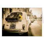 Fiat 500 Rome Greeting Cards