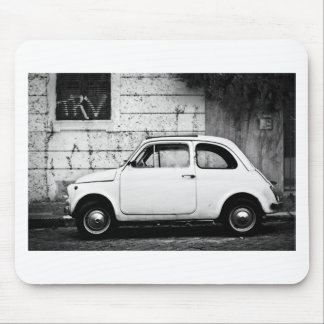 Fiat 500 Rome Mouse Pad