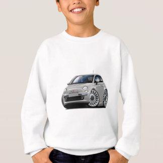 Fiat 500 Silver Car Sweatshirt