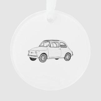 Fiat 500 Topolino Ornament