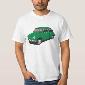 Fiat 600 (Seicento) green t-shirt