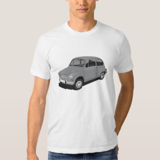 Fiat 600 (Seicento) grey t-shirt
