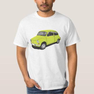 Fiat 600 (Seicento) super green t-shirt