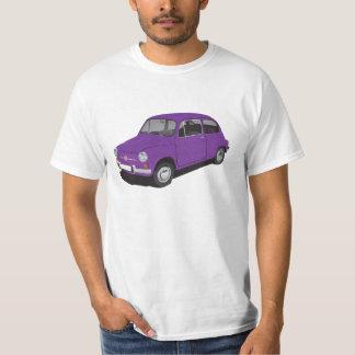 Fiat 600 (Seicento) violet t-shirt