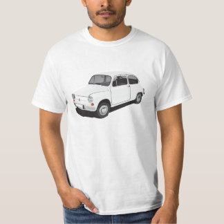Fiat 600 (Seicento) white t-shirt