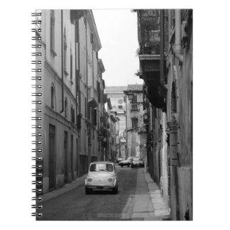 Fiat Cinquecento en Verona Libro De Apuntes Con Espiral