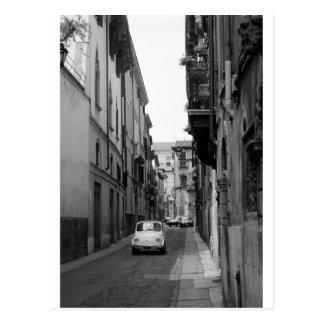 Fiat Cinquecento in Verona Post Card