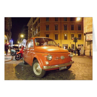 Fiat en Roma Felicitacion