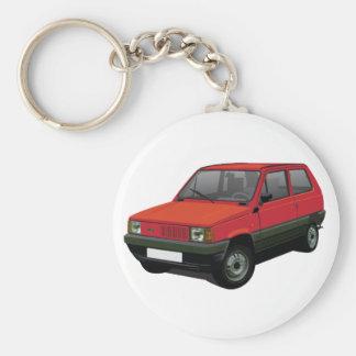 Fiat Panda 30 / 45 red Keychain