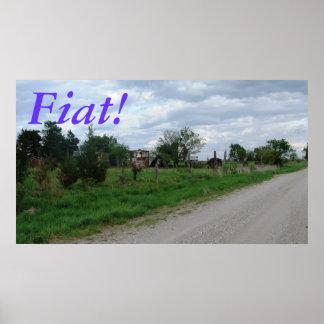 Fiat, poster de Kansas