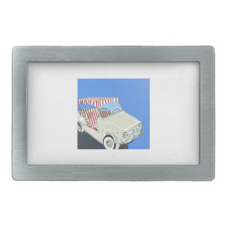 fiat with canape rectangular belt buckle
