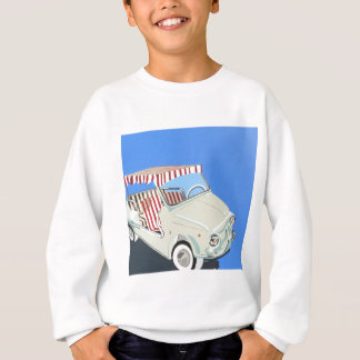 fiat with canape sweatshirt